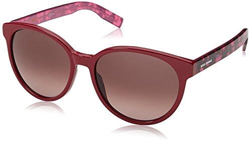 BOSS Orange Damen BO 0195/S XQ 2PG Sonnenbrille, Pink (Fchs Hvnchrr/Mauve Sf), 55