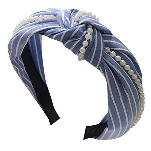 it Punkte Muster und Knoten im Retro 20er Jahre Flapper Haarband Unisex Schwarz Multi-Stil Frühling Welle Stirnband Haarschmuck Geschenk Haarnadeln Geschenk ()
