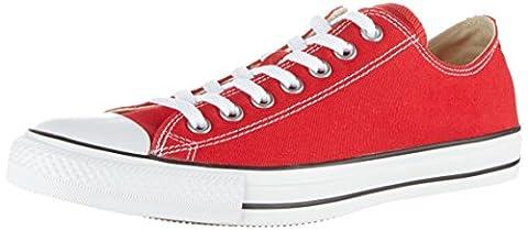 Converse Converse Sneakers Chuck Taylor All Star M9696, Unisex-Erwachsene Sneakers, Rot, 38 EU (5.5 Erwachsene UK)