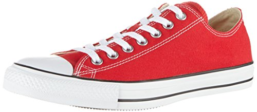 Converse AS Ox Can red M9696 Unisex-Erwachsene Sneaker, Rot (red), EU 42(US 8.5)