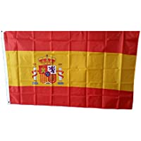 MM España Bandera/bandera, resistente a la intemperie, multicolor, 150x 90x 1cm, 16302