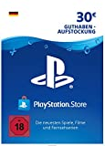 PSN Card-Aufstockung | 30 EUR | PS4, PS3, PS Vita Playstation Network Download Code - deutsches Konto -