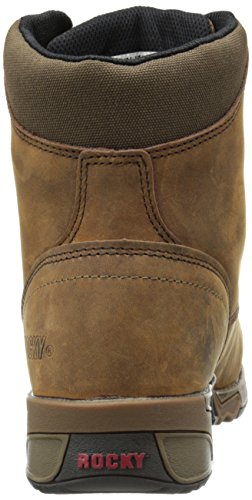 Rocky Aztec Marron Large Cuir Chaussure de Randonnée brown
