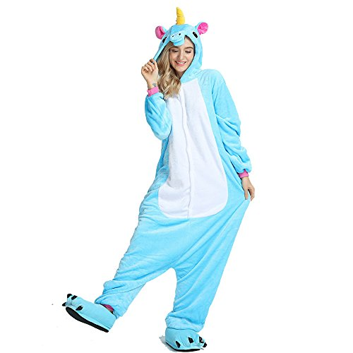 Crazy Lin Unisexo Adultos Unicorn Pegasus Cartoon...