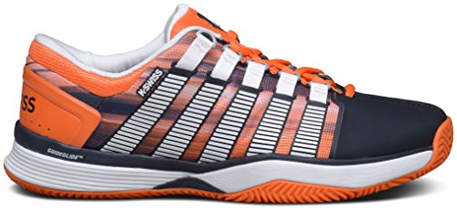K-SWISS HYPERCOURT HB BLK/VBRNTORNG/GRPHCPRNT Black/orange