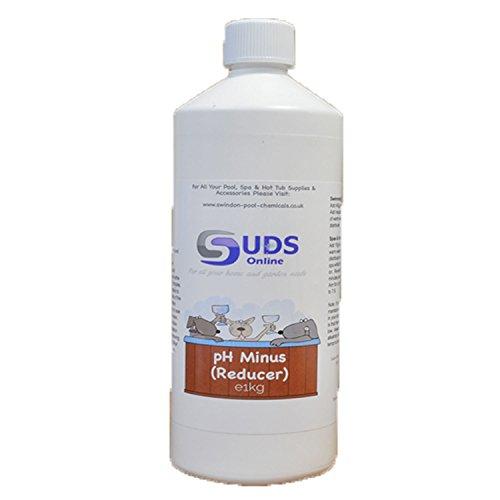 SUDS-ONLINE 10kg reductor de ph- menos ácido seco para piscinas, spas, jacuzzis Down