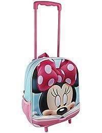 Minnie 3D Mochila infantil, 31 cm, Rosa