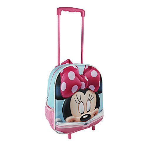 Made in Trade - Minnie Cartable A Roulettes 3D,...