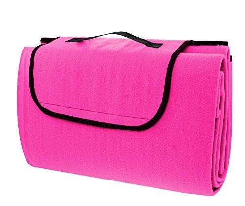 CALTER C-DEK1-GRADY-1 Picknickdecke, Pink, 27 x 8 x 40 cm