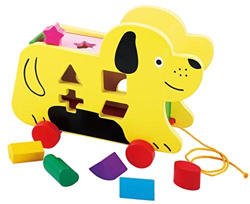 Toys of Wood Oxford Juguete Madera Perro - Perro Ruedas