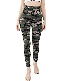Shri Hub Women's Cotton Army Style Track with Mix Bottom Wear (Multicolour, Free Size)