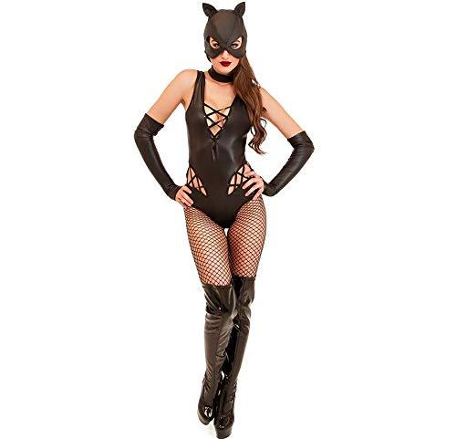 Yunfeng Hexenkostüm Damen Cosplay Halloween Kostüm Bar Sexy Kitty Nachtclub DS Performance Kostüm (Hexe Kostüm Kitty)