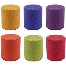Liamostee Pastel de Humo de 6 Colores, Redondo, Accesorios de fotografía, Escenario de