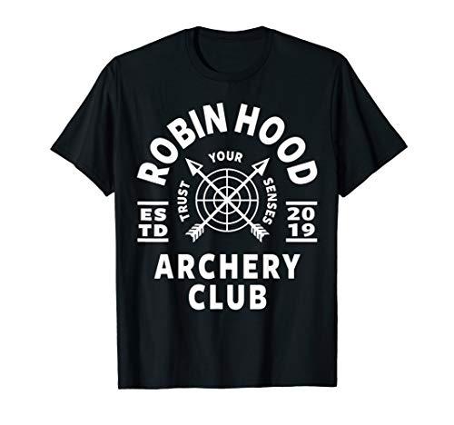 Archery Club apparel & clothing. Robin Hood Archery  T-Shirt