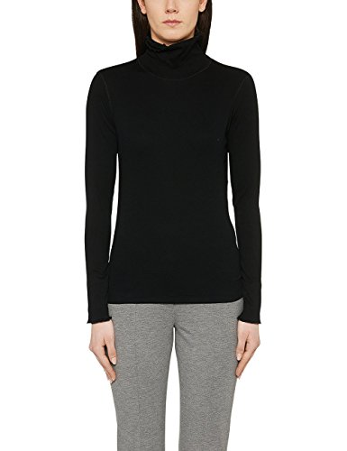 Marc Cain Essentials Damen T-Shirt +E4824J50, Schwarz (Black 900), fa45b9a0ca