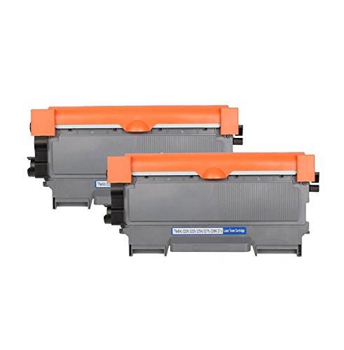 EBY 2er-Pack ersetzt Brother TN2220 TN-2220 Toner Schwarz für Brother HL-2240 2240D HL-2250DN HL-2270DW DCP-7060D DCP-7065DN DCP-7070DW MFC-7360N MFC-7460DN MFC-77860DW FAX-2840 FAX-2845 FAX-2940