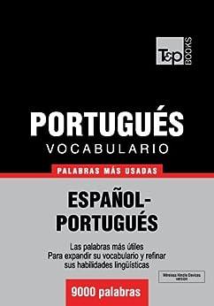 Vocabulario español-portugués - 9000 palabras más usadas (T&P Books) de [Taranov, Andrey]