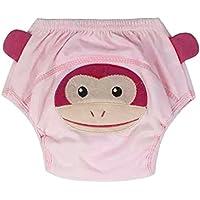 domybest bebé 4capas pantalones de entrenamiento para lavable reutilizable para bebé pañales bebés pañales ropa interior