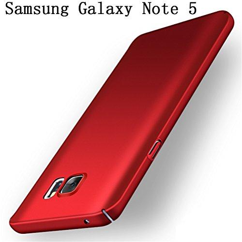 Adamark Samsung Galaxy Note 5 Case Slim Fit PC Shell Bumper Anti-Scratch Thin Hard Cover Shockproof Protective Case For Samsung Galaxy Note 5