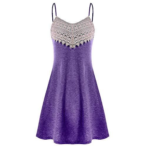 BOLANQ 1920s Kleid Damen Flapper Kleid Mit Kurzem ÄRmel Gatsby Motto Party Damen KostüM ()
