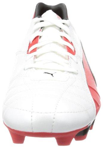 Puma Spirit FG 102671, Scarpe da calcio uomo Bianco (Weiß (metallic white-high risk 05))