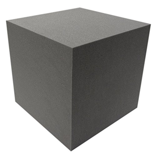 Akustikpur - AKUSTIK WÜRFEL (40x40x40) SCHALL ABSORBER DÄMMUNG SCHWARZ -