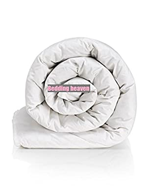 Bedding Heaven 3 tog SUPER KING SIZE DUVET Lightweight quilt ideal for Summer. This is a Fogarty made slight second direct from their factory. by Bedding Heaven produced by Fogarty - quick delivery from UK.