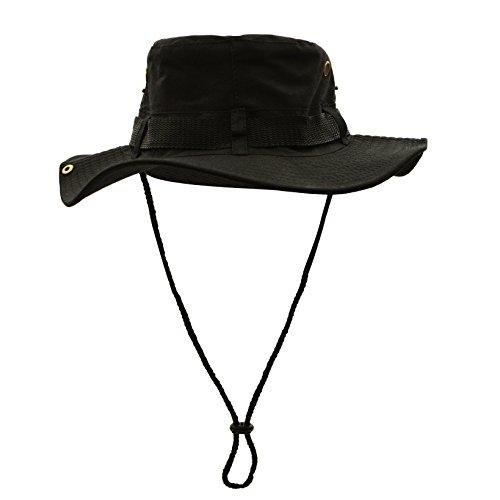 WinCret Außen Boonie Hat Bush Hut für Männer & Frauen - Multi-Farben (Kostüm Mann Kunststoff Armee)