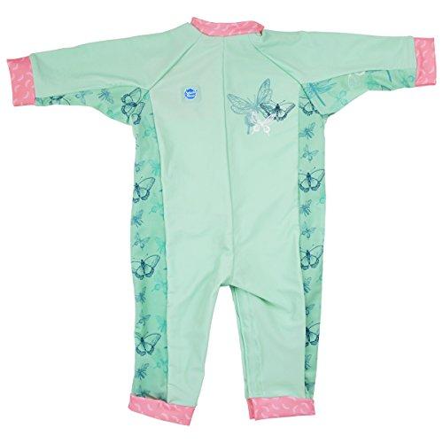 Splash About Mädchen Einteiliger UV Schutzanzug, Libelle, 3-6 Monate, UVADF3