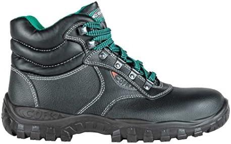 Cofra ta000 – 000.w37 calzado de trabajo,mercurio, tamaño 4, Negro