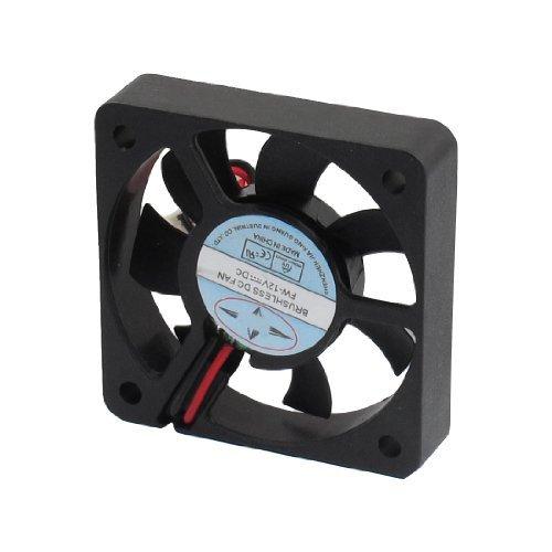 TOOGOO(R) Ventilador de Refrigeracion sin Escobillas CC 12V Conector 2 Pines 50mm...