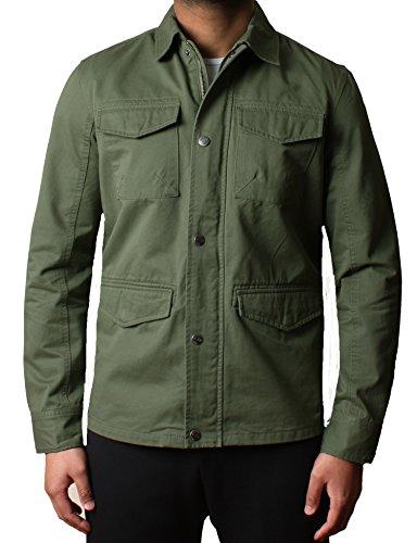 uomo-progettista-militare-twill-al-di-sopra-camicia-giacca-hartford-bang-plain-dmw018cachim