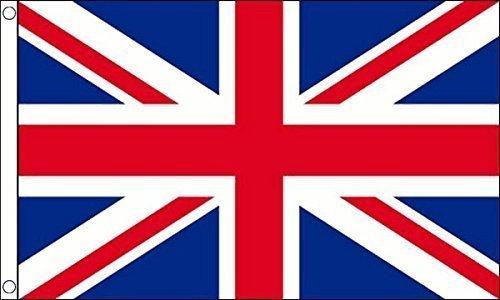 3 m x 2 m (90 x 60 cm-Union Jack Royaume-Uni de Grande 100% Polyester-Bretagne Drapeau Banniere idéale pour Festival bar Club l'activité Décoration de Fête