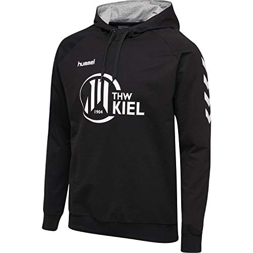 Hummel Herren Sweatshirt THW Kiel HMLGO Cotton Hoodie schwarz - M