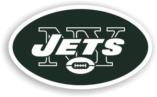 Fremont Die NFL New York Jets 30,5 cm Vinyl Logo Magnet Nfl-magnet-jets