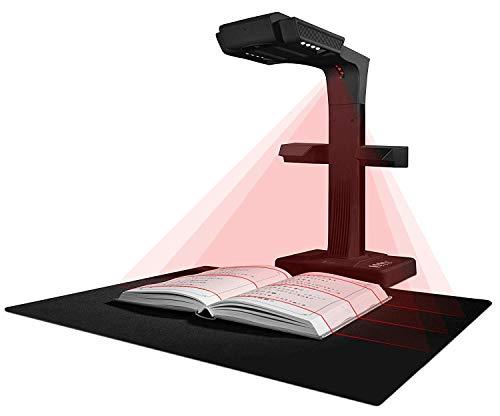 CZUR ET18 Pro Prämie Buchscanner, Smart Dokumentenscanner mit OCR Funktion, Nach PDF konvertieren/durchsuchbare PDF/Word/Tiff/Excel für PC Mac Windows, Scanfläche bis A3, USB 2.0 Anschluss - Scanner Windows