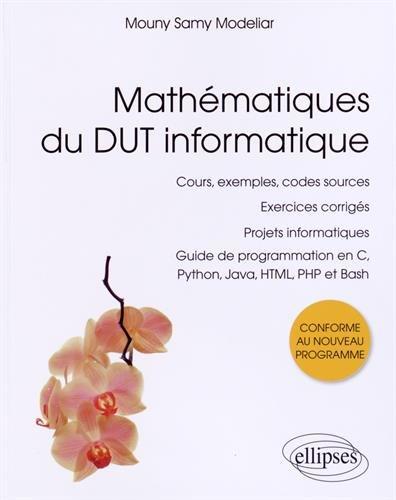 Mathématiques du DUT Informatique Guide de Progra...