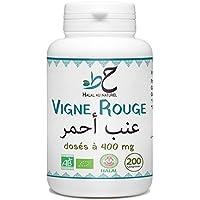 Vigne Rouge Bio Halal - 400 mg par comprimé - 200 comprimés