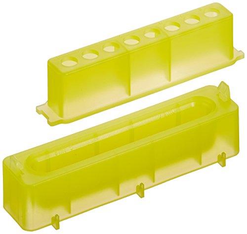 neolab 7-47568canali serbatoio PP con provette PCR per rack, giallo (Confezione da 10)