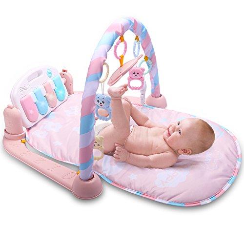 Baby-Spielmatte von Luerme, zum Strampeln und Spielen, Klavier, zum Turnen, auslegen, mit Musik
