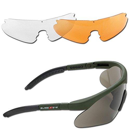 Swiss Eye Schutzbrille Raptor oliv