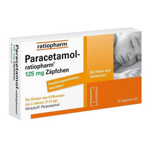 Paracetamol-ratiopharm 12 10 stk