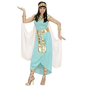 WIDMANN Disfraz de Reina egipcia Azul para Mujer Talla Grande - XL
