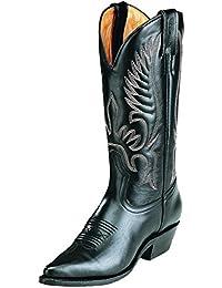 Botas de los EE.UU.-Botas, botas western BO-4040-17-C (pie normal) para mujer, color negro