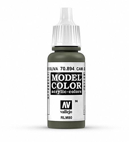 Vallejo Model Color Acrylfarbe, 17 ml Cam Olive Green - Cami Olive
