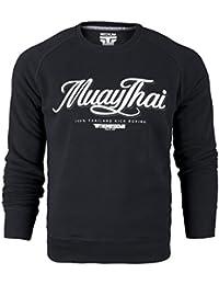 Muay Thai Sweatshirt. Thumbsdown Crewneck. 100% Thiland Kick Boxing. Proud & Glory. Martial Arts. MMA Hoodie