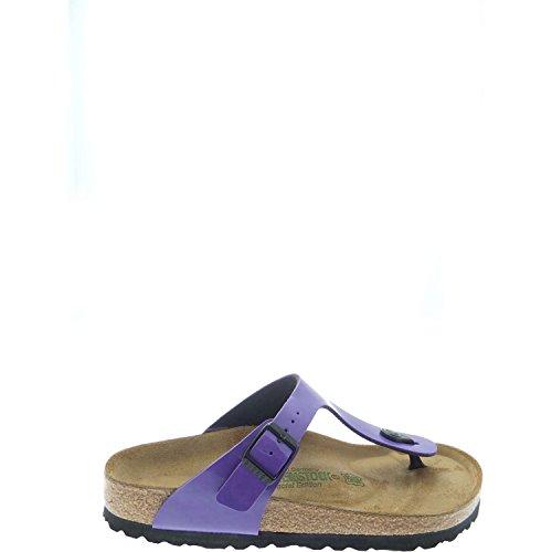 Birkenstock Gizeh - Sandali con Cinturino alla Caviglia Donna Lilla