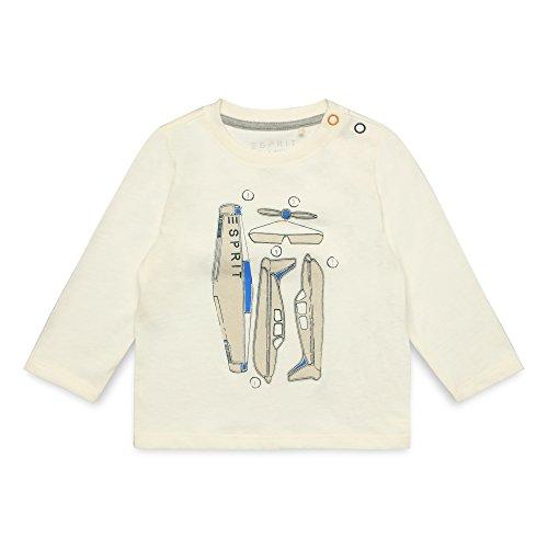 ESPRIT KIDS Baby-Jungen T-Shirt RM1006209 Weiß (Off White 110) 92