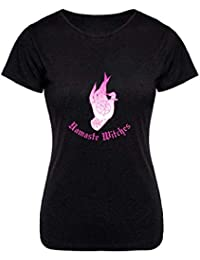 KOSMINE Yoga Namaste Witches Fire A0699 Inspired T-Shirt T-Shirt Shirt  Camiseta For Women 5cab397e483