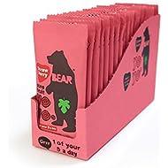 Bear Fruit Yoyo Strawberry 18 x 20g
